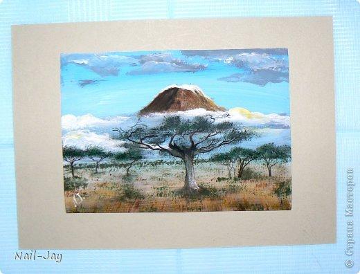 Картина, панно, рисунок, Мастер-класс Рисование и живопись: Ещё картинки в правополушарной технике + МК для  Гуашь. Фото 1