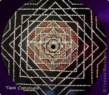 "Мастер-класс Рисование и живопись: Мандала ""Магический квадрат"" POINT-TO-POINT Мастер-класс. Краска. Фото 6"