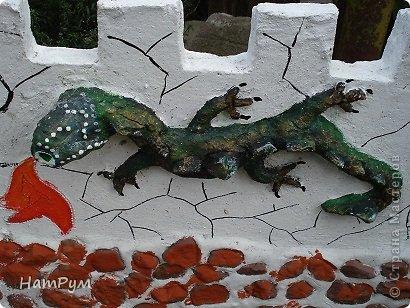 Поделка, изделие Лепка: Замок драконов(МК). Фото 7