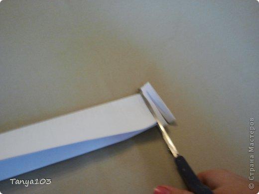 Мастер-класс, Поделка, изделие: Бумажная гирлянда совсем простая и быстрая Бумага Новый год. Фото 5
