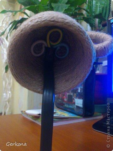 Декор предметов Моделирование: Моя чашка перевертыш))) Как я ее делала Кофе, Шпагат. Фото 6