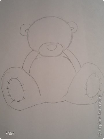 красиво нарисовать Мишку