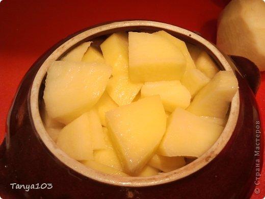 Кулинария, Мастер-класс Рецепт кулинарный: Очень вкусная курочка в горшочке с грибами и картофелем Продукты пищевые. Фото 4