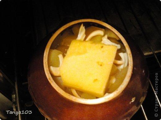 Кулинария, Мастер-класс Рецепт кулинарный: Очень вкусная курочка в горшочке с грибами и картофелем Продукты пищевые. Фото 6