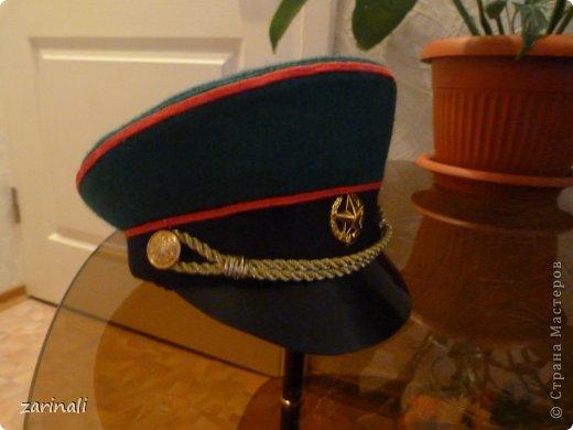 Мастер-класс Шитьё: Фуражка военного. Фото 1