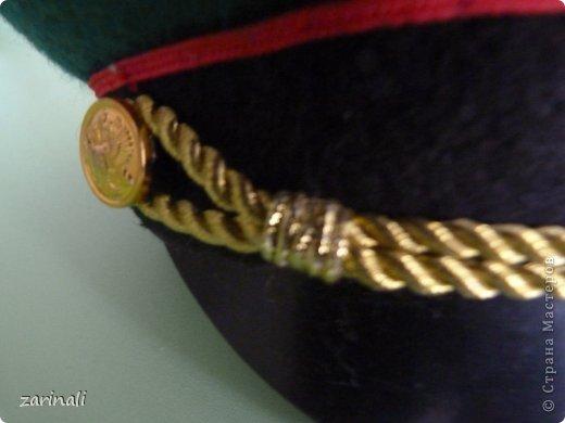 Мастер-класс Шитьё: Фуражка военного для куклы. Фото 31