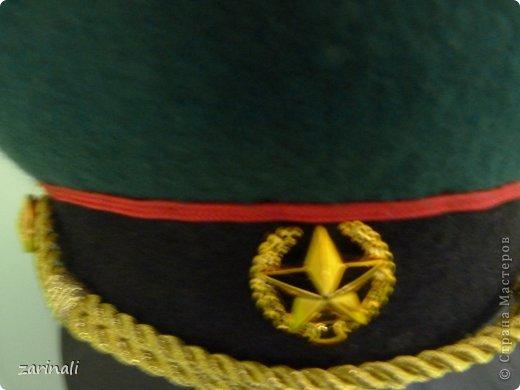 Мастер-класс Шитьё: Фуражка военного для куклы. Фото 32
