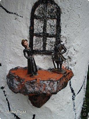 Поделка, изделие Лепка: Замок драконов(МК). Фото 12