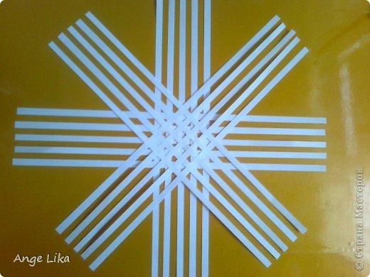 Мастер-класс: Объемная воздушная снежинка Бумага Новый год. Фото 3