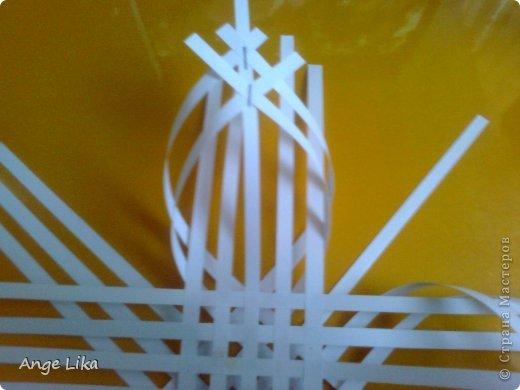 Мастер-класс: Объемная воздушная снежинка Бумага Новый год. Фото 5