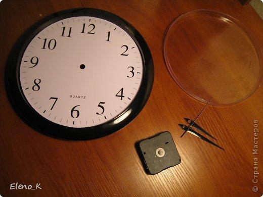 Декор предметов, Мастер-класс Декупаж: часы настенные МК Клей, Кофе, Краска. Фото 1