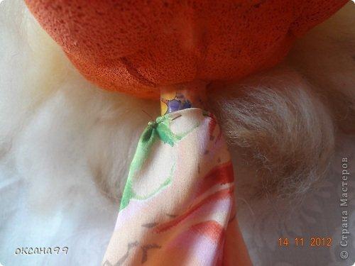 Игрушка, Куклы, Мастер-класс Шитьё: МАСТЕР КЛАСС Перчаточные куклы для кукольного театра.  2 часть.  Вата, Гуашь, Капрон, Клей, Кружево, Ткань. Фото 11