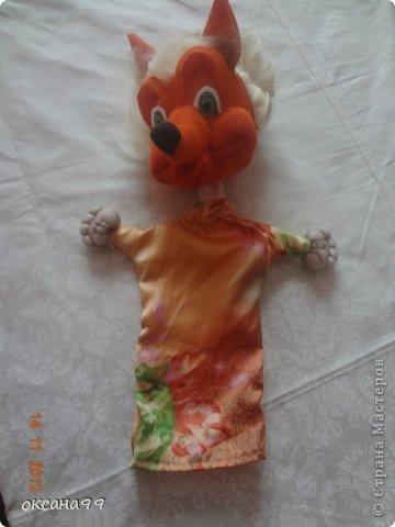 Игрушка, Куклы, Мастер-класс Шитьё: МАСТЕР КЛАСС Перчаточные куклы для кукольного театра.  2 часть.  Вата, Гуашь, Капрон, Клей, Кружево, Ткань. Фото 13