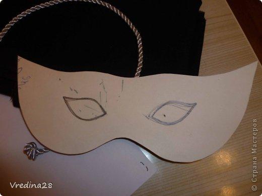 Как сделать маску карнавальную из картона