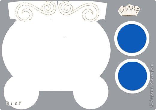 """Поделка, изделие, Скрапбукинг Ассамбляж: Мини-альбом  """"Экипаж для принцессы"""". Фото 19"""