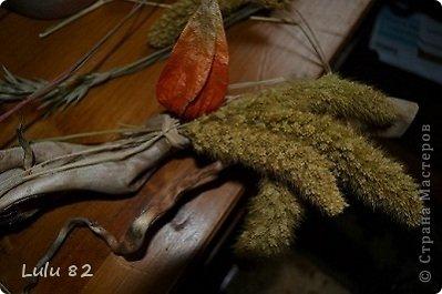 Флористика: Как можно украсить корягу + маленький МК. Материал природный, Свечи. Фото 3