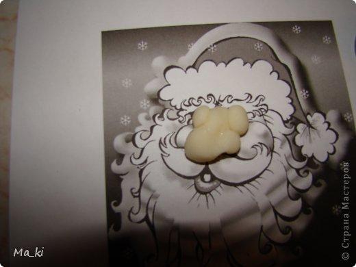"""Мастер-класс, Поделка, изделие Лепка, Роспись:  елочная игрушка """"дед мороз"""" Акварель, Вата, Тесто соленое Новый год, Отдых. Фото 10"""
