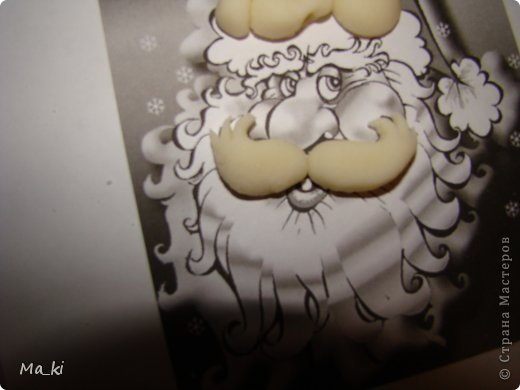 """Мастер-класс, Поделка, изделие Лепка, Роспись:  елочная игрушка """"дед мороз"""" Акварель, Вата, Тесто соленое Новый год, Отдых. Фото 12"""
