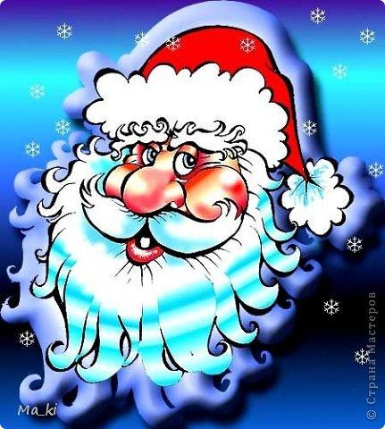 """Мастер-класс, Поделка, изделие Лепка, Роспись:  елочная игрушка """"дед мороз"""" Акварель, Вата, Тесто соленое Новый год, Отдых. Фото 8"""
