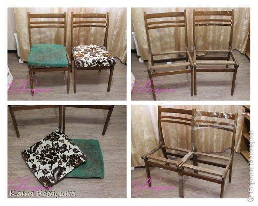 Диван из стульев