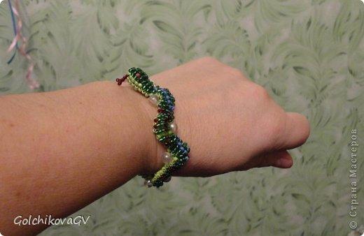 Как сделать браслет змея