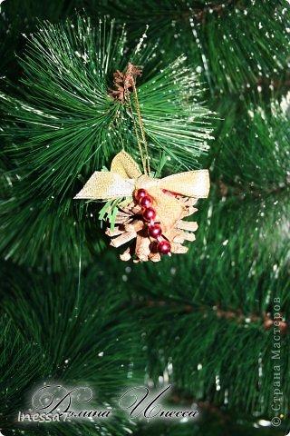 Декор предметов, Мастер-класс Пэчворк: елочные шарики МК Новый год. Фото 18