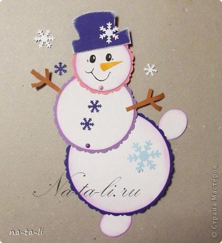 Новогодние открытки своими руками с детьми мастер