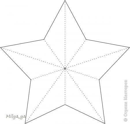 Шаблон звезды из бумаги своими руками на 9 мая