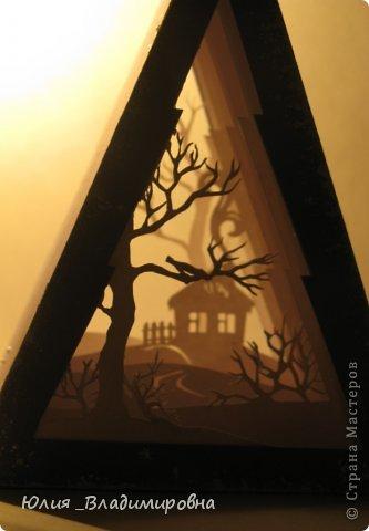 Мастер-класс, Поделка, изделие Бумажный туннель, Вырезание силуэтное: Туннель- ёлочка Бумага Новый год. Фото 14