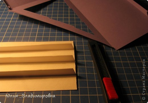 Мастер-класс, Поделка, изделие Бумажный туннель, Вырезание силуэтное: Туннель- ёлочка Бумага Новый год. Фото 7