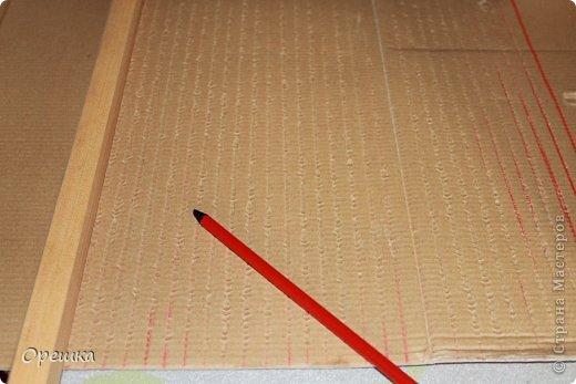 Поделка, изделие Аппликация из скрученных жгутиков: Пейп- арт сундук. Попытка первого МК. ))) Салфетки Отдых. Фото 4