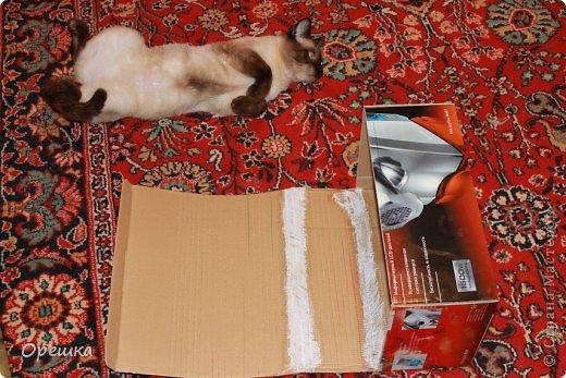 Поделка, изделие Аппликация из скрученных жгутиков: Пейп- арт сундук. Попытка первого МК. ))) Салфетки Отдых. Фото 5