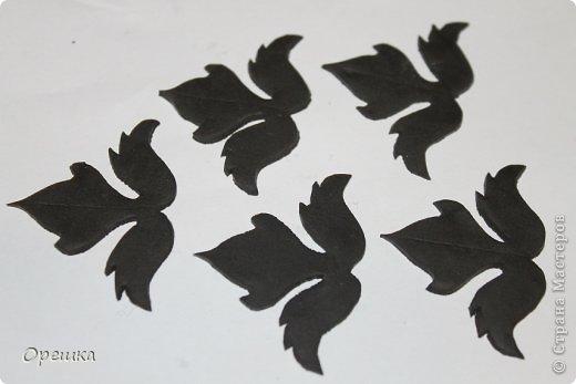 Поделка, изделие Аппликация из скрученных жгутиков: Пейп- арт сундук. Попытка первого МК. ))) Салфетки Отдых. Фото 12