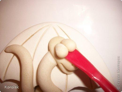 Мастер-класс, Поделка, изделие Лепка: Сувенирчики к новому году,змейки на зонтах. Тесто соленое Новый год. Фото 36