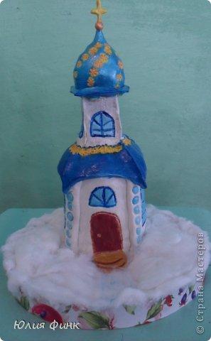 Поделки храм из бутылок