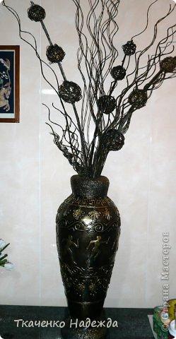 Своими руками цветы и вазы