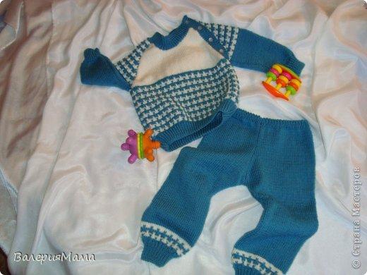 Связать костюм мальчику 1 год