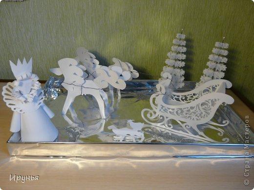 Снежная королева поделки  из бумаги