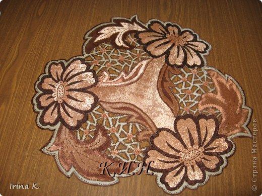 Интерьер Гильоширование: Декоративные салфетки Ткань. Фото 17