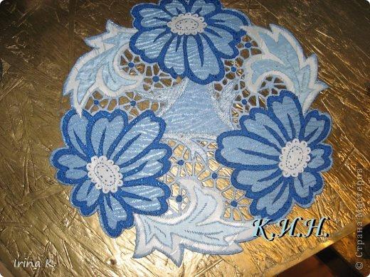 Интерьер Гильоширование: Декоративные салфетки Ткань. Фото 3