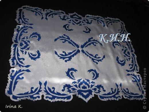Интерьер Гильоширование: Декоративные салфетки Ткань. Фото 4