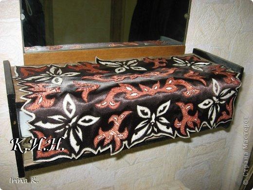 Интерьер Гильоширование: Декоративные салфетки Ткань. Фото 6
