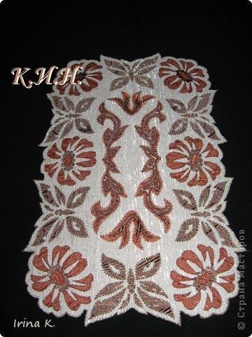 Интерьер Гильоширование: Декоративные салфетки Ткань. Фото 7