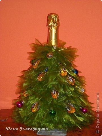 Декор предметов, Свит-дизайн Макет: новогодние елочки и как делать фунтики Бусинки, Клей, Ткань Новый год. Фото 5