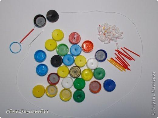 Мастер-класс Моделирование: Ёлочные цепи из пластика. Продолжаем украшать большую ёлку. Бутылки пластиковые Новый год. Фото 13