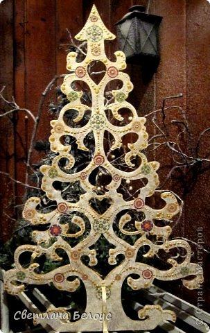 Декор предметов Декупаж: Новогодняя лихорадка... Дерево, Свечи Новый год. Фото 1