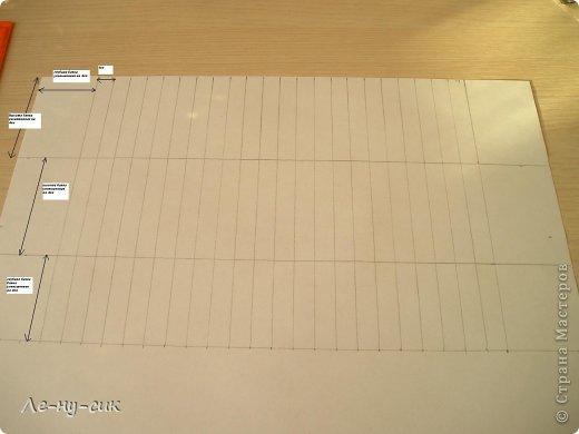 Мастер-класс Моделирование: Мастер-класс. Баян из бумаги. Бумага 8 марта. Фото 9
