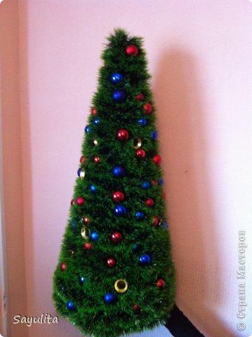 Мастер-класс: Елка большая высота 1м+ маленький маленький МК Новый год. Фото 8