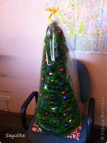 Мастер-класс: Елка большая высота 1м+ маленький маленький МК Новый год. Фото 10