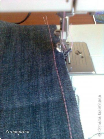 Мастер-класс Шитьё: Вторая жизнь старых джинс.. Фото 10